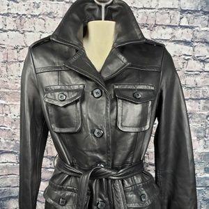 Wilson Leather Vintage Full Length Coat Small